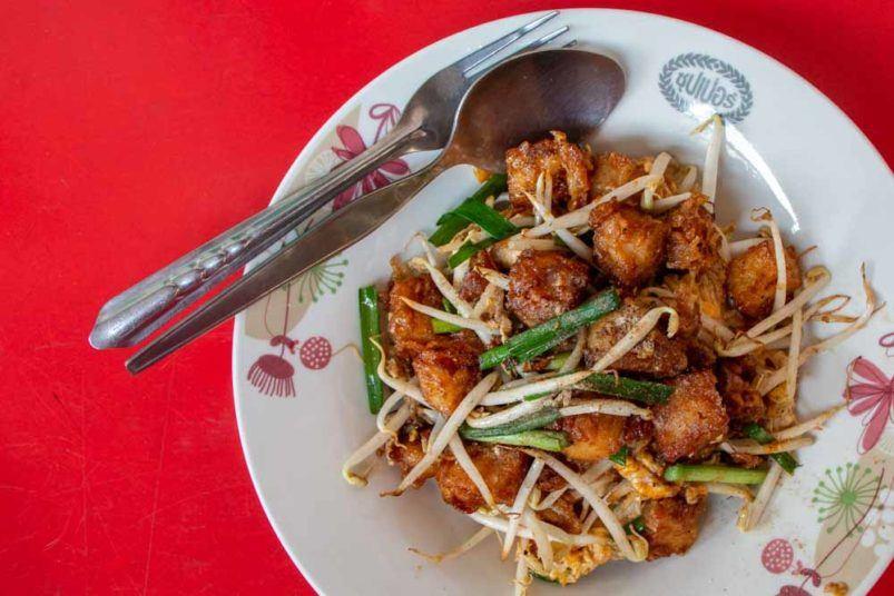 Kanom Pakkaad on Bangkok Street Food Tour