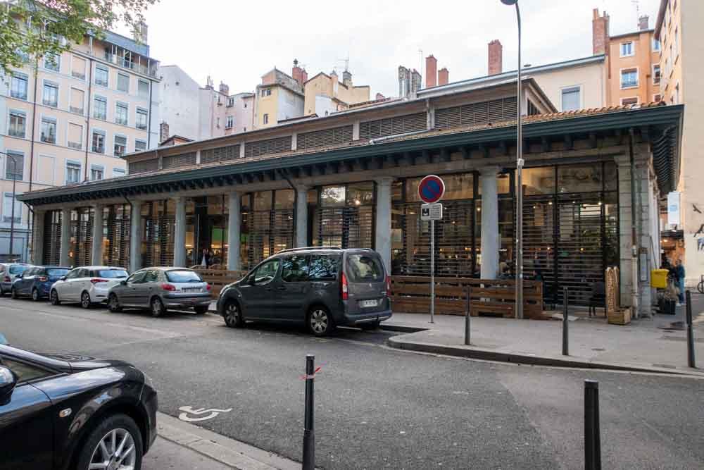 Les Halles de la Martiniere in Lyon France