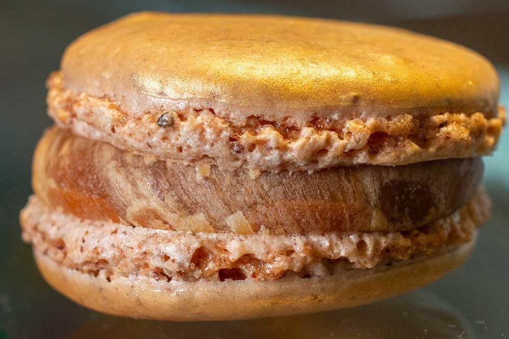 Macaron at Seve in Lyon France