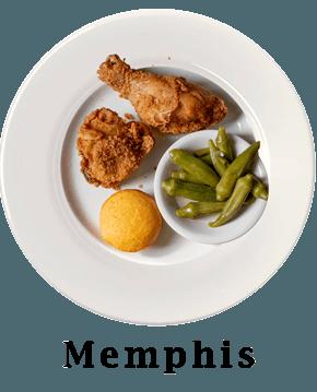 Memphis Plate