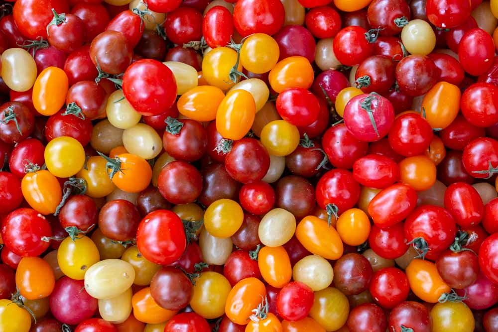 Tomatoes at Lyon Market