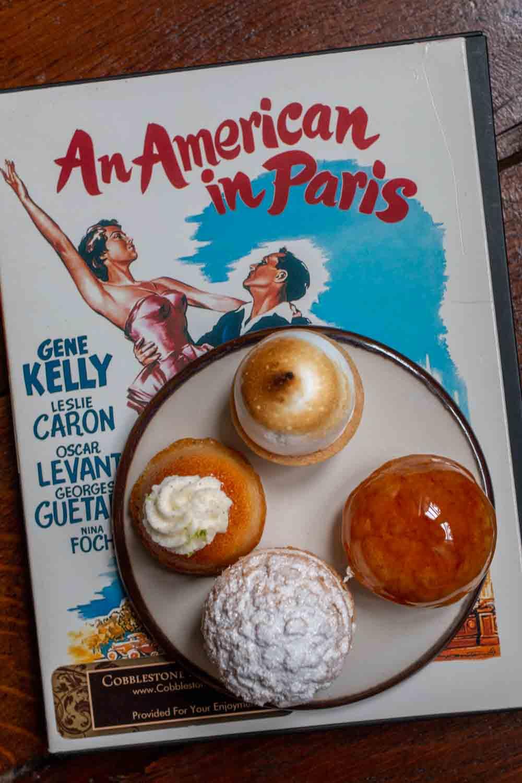 American in Paris in Cobblestone Paris Apartment Hotel