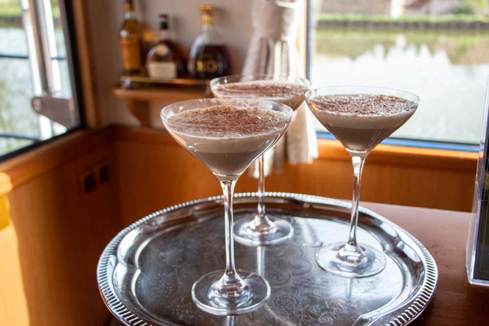 Cocktails on European Waterways Barge Cruise