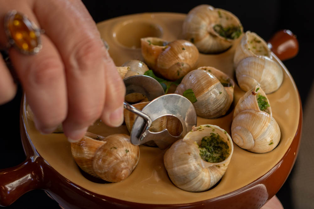 Escargots on European Waterways Barge Cruise