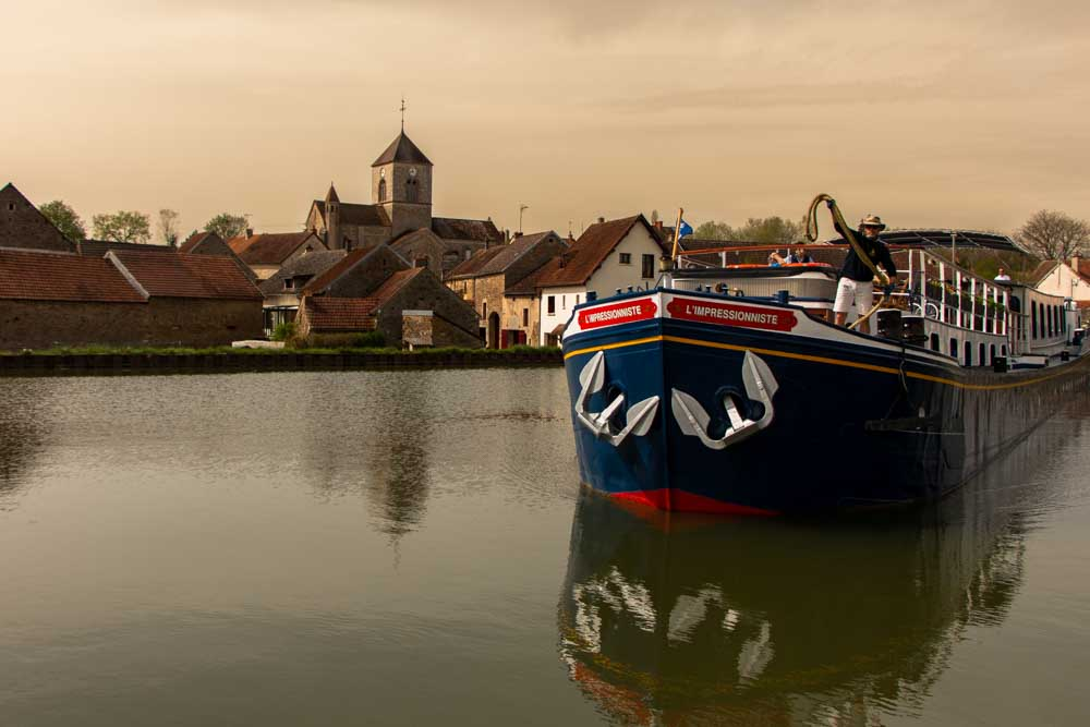 European Waterways Barge in Burgundy