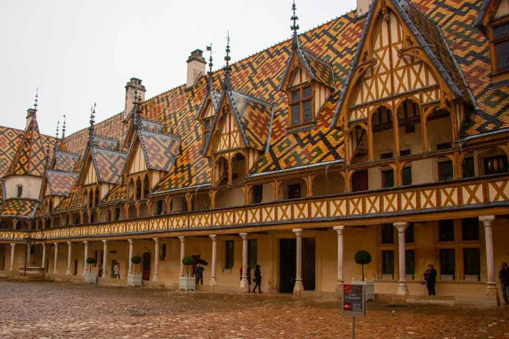 Hotel Dieu Hospice in Beaune France