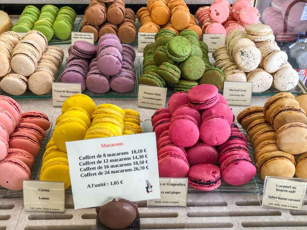 Macarons in Dijon France