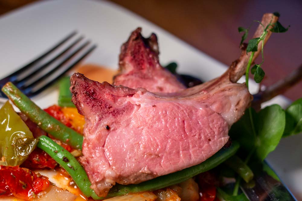 Steak on European Waterways Barge Cruise