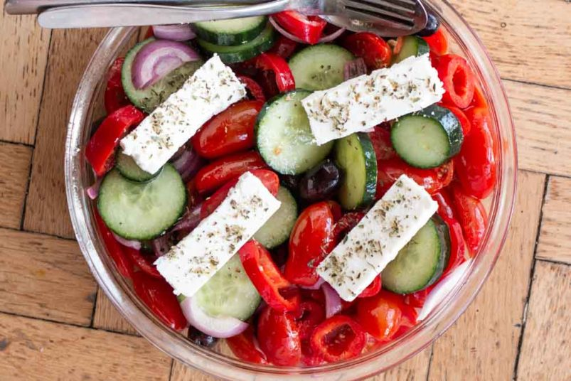 What To Eat in Greece - Horiatiki