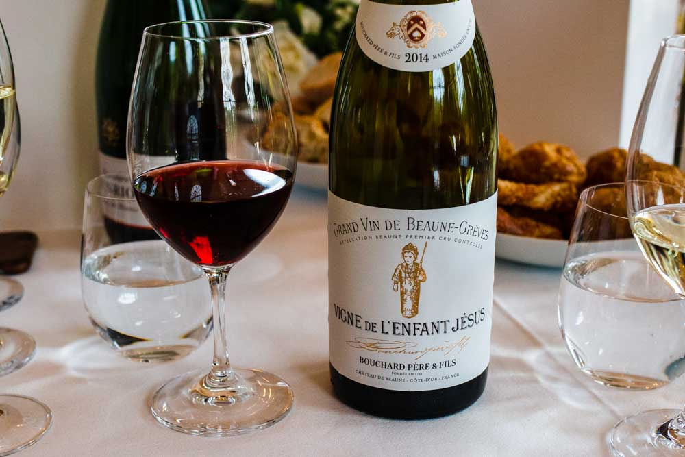 Wine Lunch at Chateau de Beaune in Burgundy France