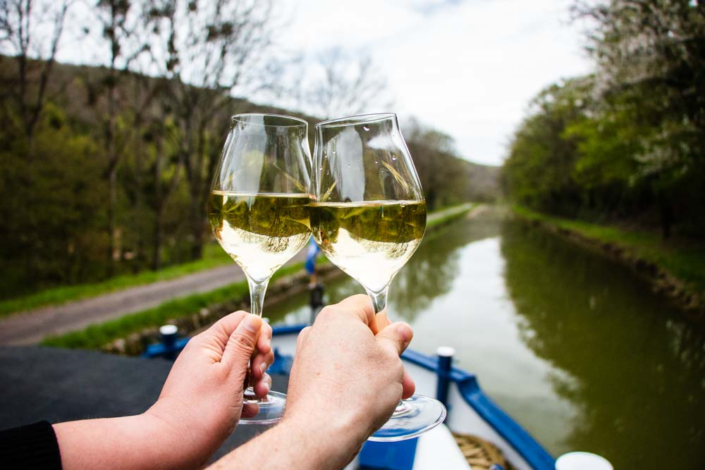 Wine on European Waterways Barge Cruise
