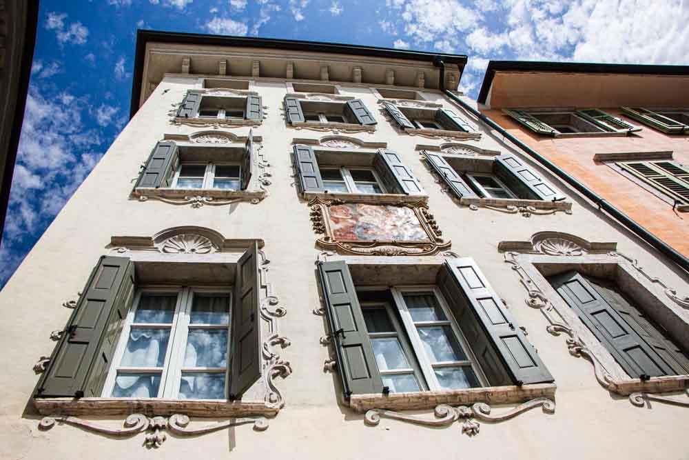 Pastatai Trento Italijoje