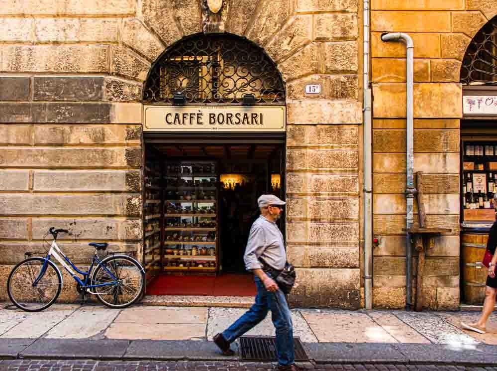 Caffe Borsari in Verona Italy