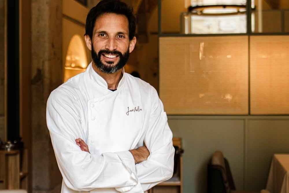 Chef Jose Avillez at Belcanto at Lisbon Restaurants