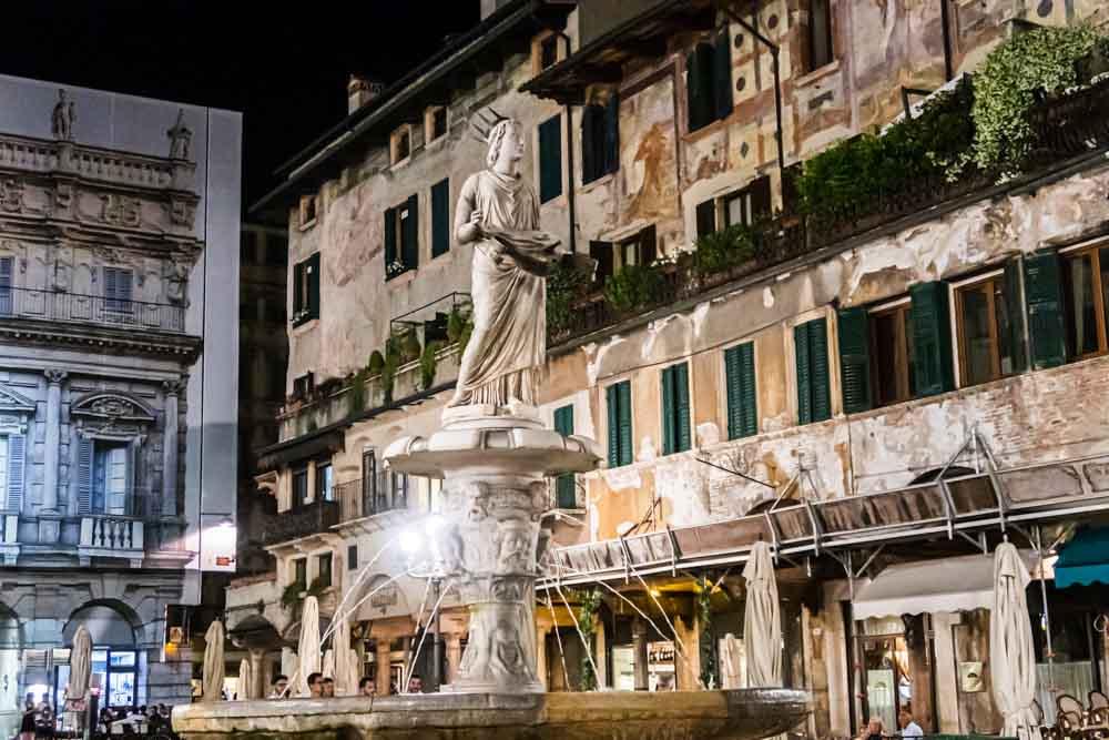 Fontanna Madonna Verona Fountain in Verona Italy