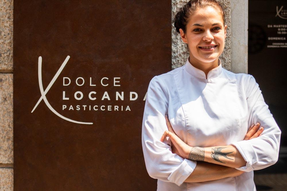 Gloria De Negri at Dolce Locanda in Verona Italy