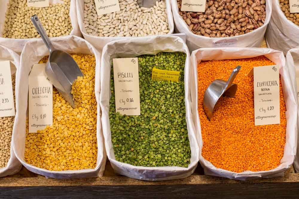 Grains at Ettogrammo in Verona Italy
