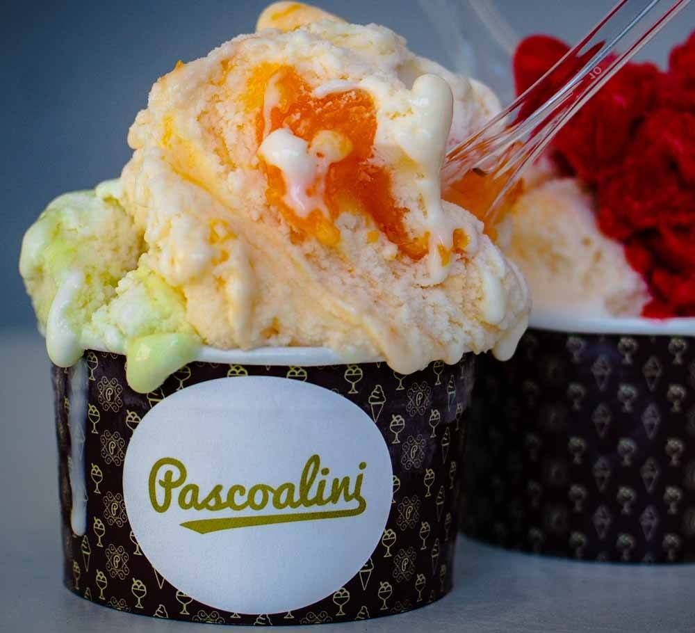 Ice Cream at Pascoalini in Lisbon