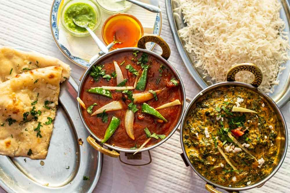 Indian Food at Lumbini at Lisbon Restaurants