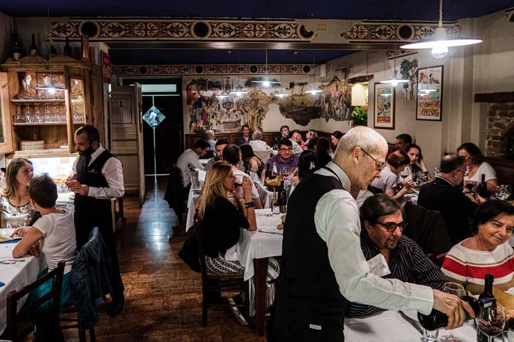 La Taverna di Via Stella Dining Room