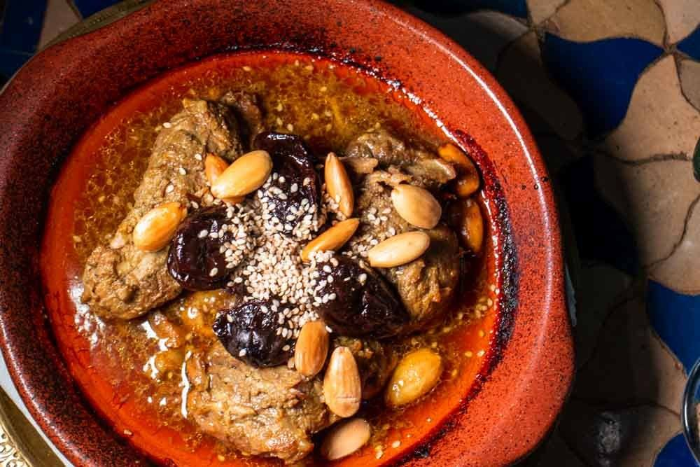 Lamb Tagine at Flor da Laranja at Lisbon Restaurants