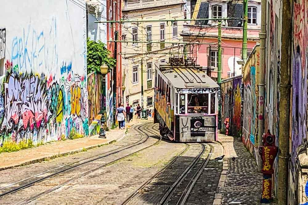 Lisbon Street Scene