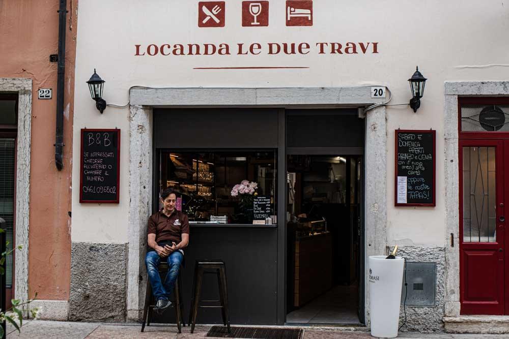Locanda Le Due Travi Trento mieste Italijoje