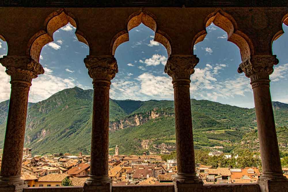 Mountain View in Trento Italy