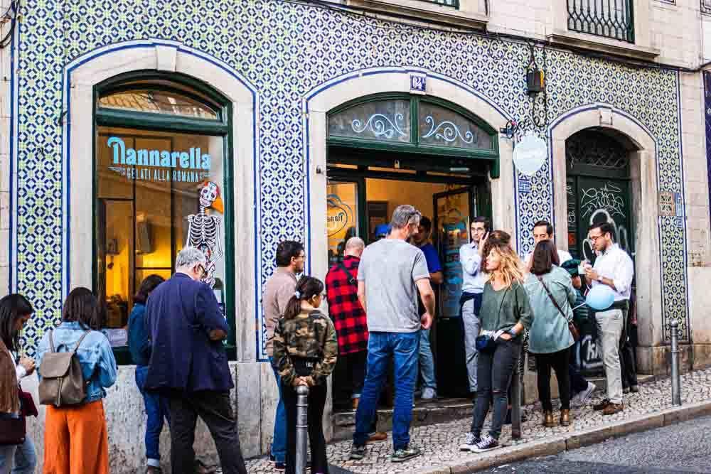 Nannarella in Lisbon