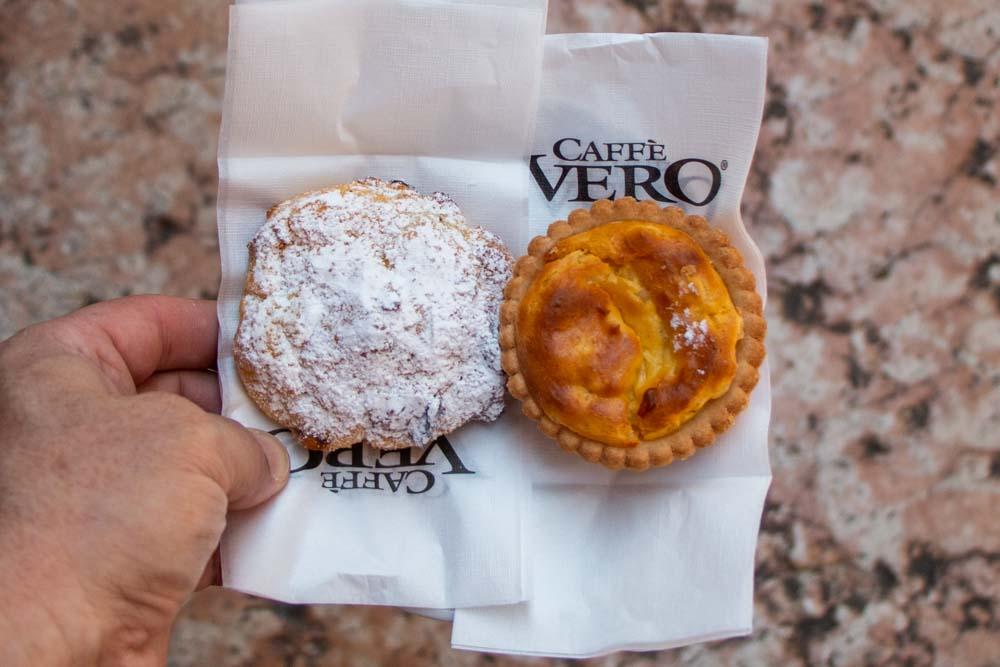 Pastries at Pasticceria Cordioli in Verona Italy