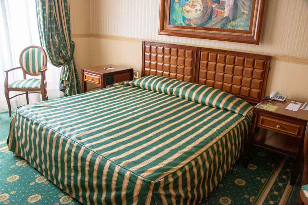 Room at Grand Hotel Trento in Trento Italy