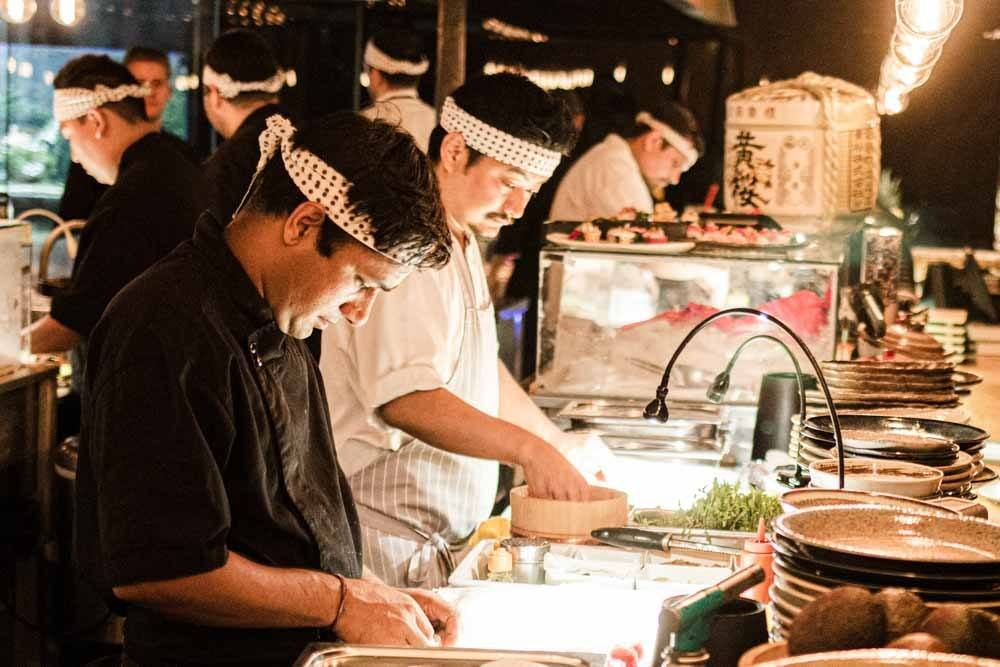 Sushi Chefs at Yakuza at Lisbon Restaurants