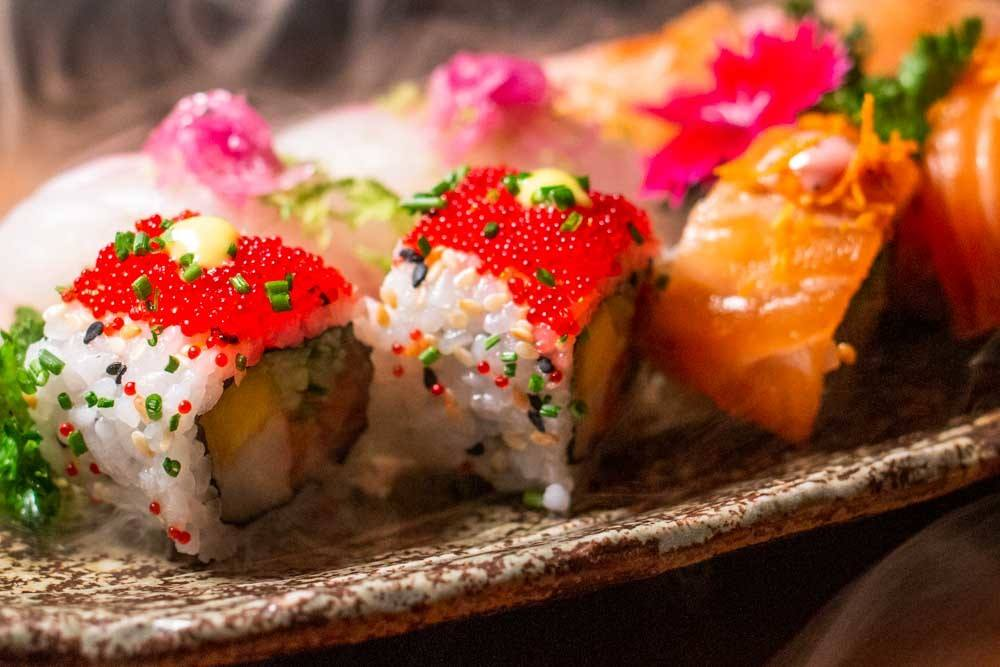 Sushi Rolls at Yakuza at Lisbon Restaurants