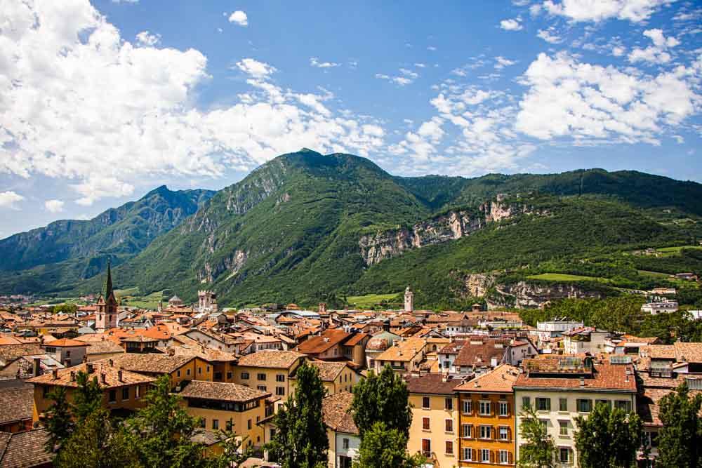 Trento Italijos peizažas