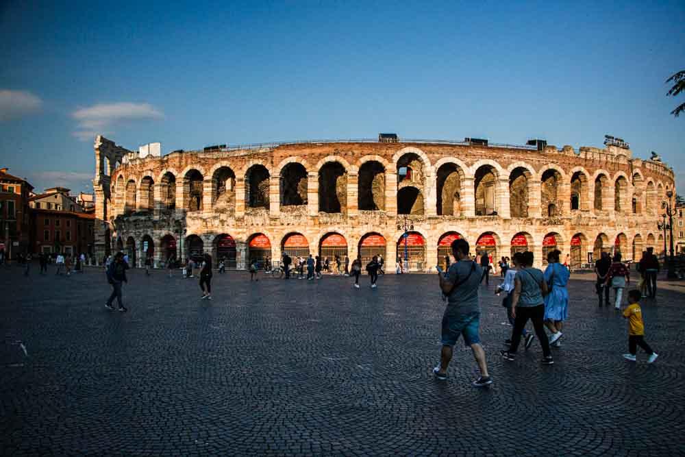 Verona Arena in Verona Italy