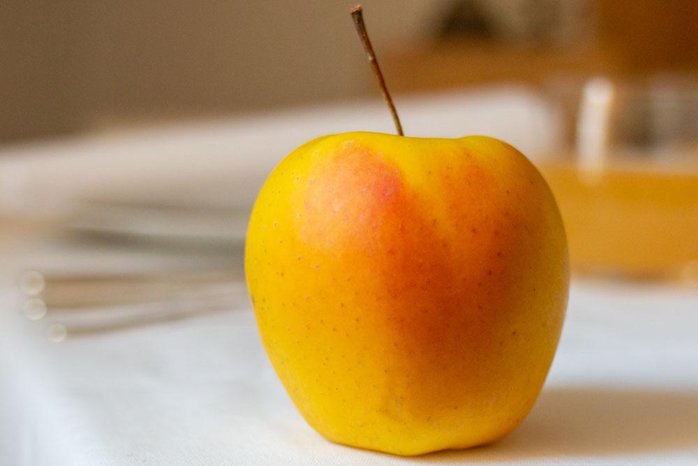 Apple at Locanda Alpina in Trentino