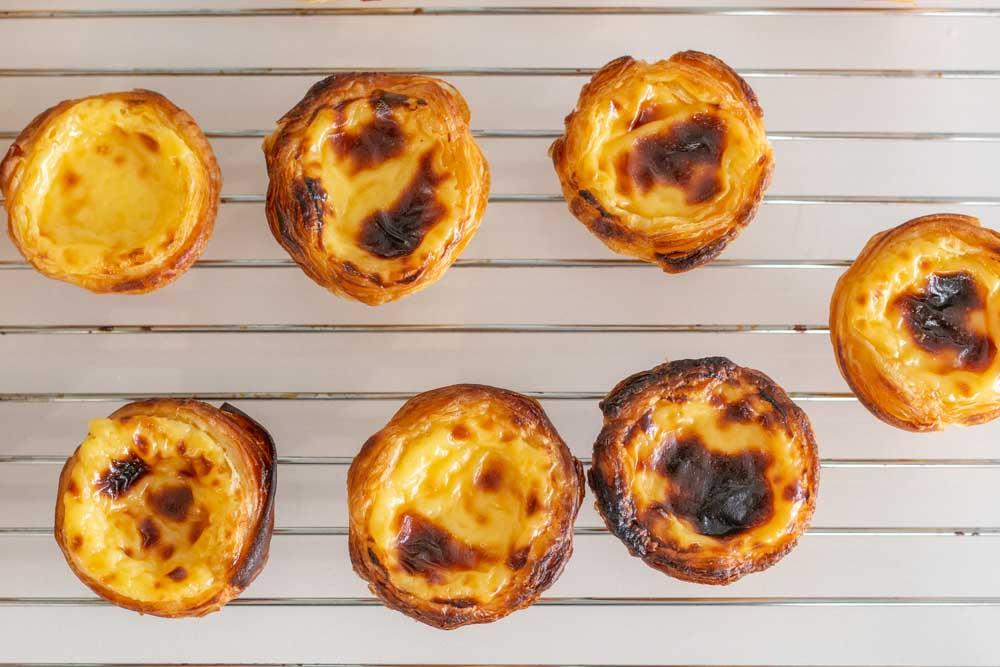 Baking Pasteis de Nata at Lisbon Cooking Academy in Lisbon