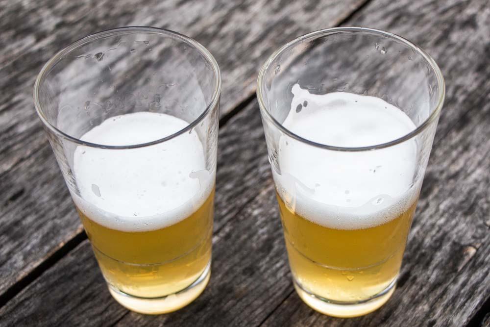 Beer at Birrificio Rethia in Trentino