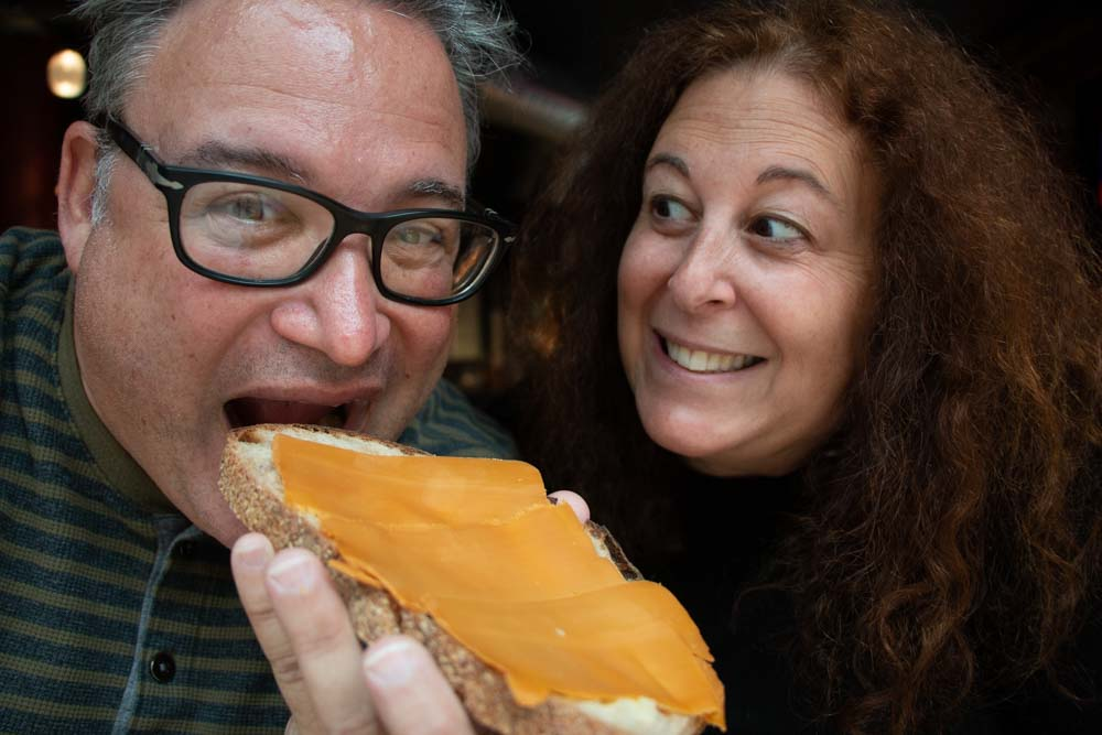 Brunost Selfie in Oslo Norway