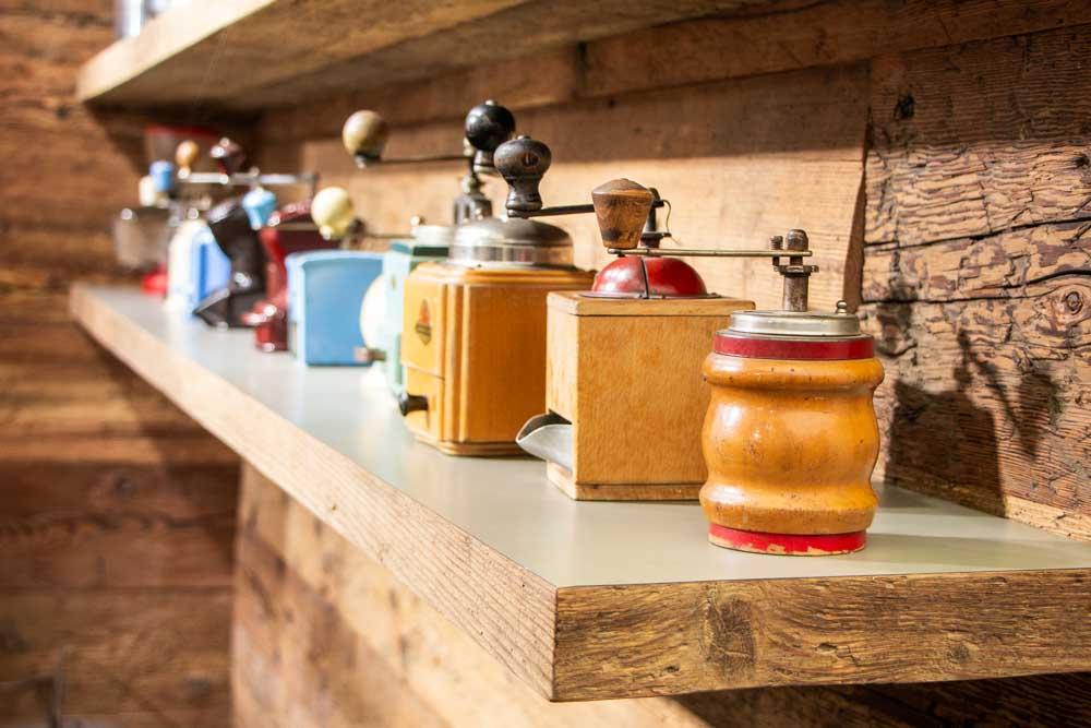 Coffee Memorabilia at Collezione Bontadi in Trentino