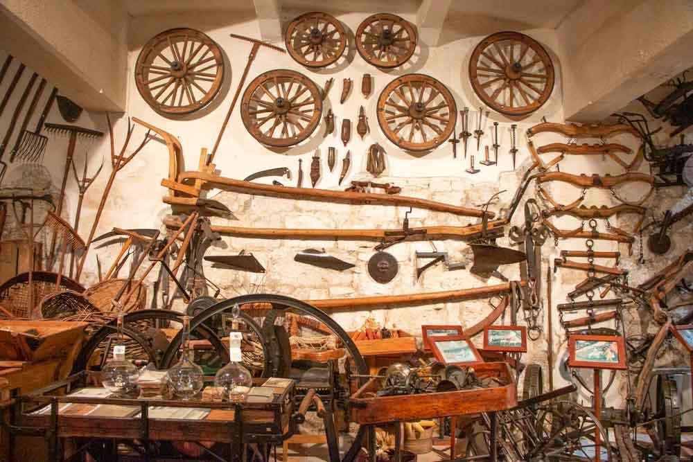 Grappa Memorabilia at Villa de Varda in Trentino