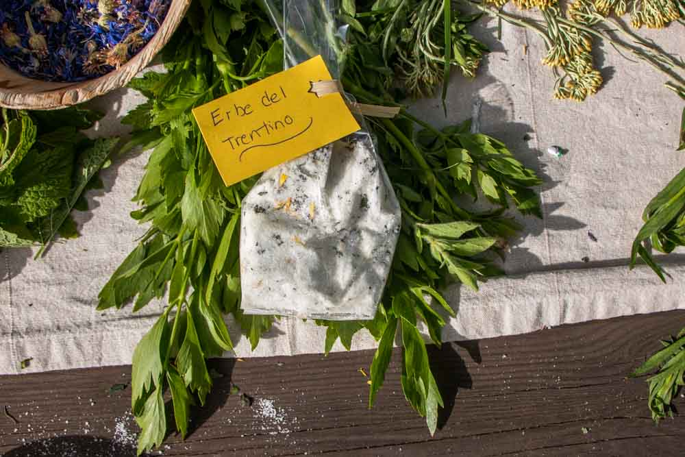 Herb Salt at Il Leprotto Bisestile in Trentino