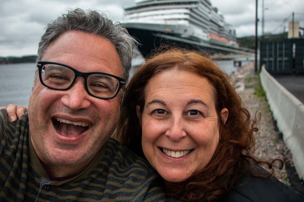 Holland America Selfie in Norway