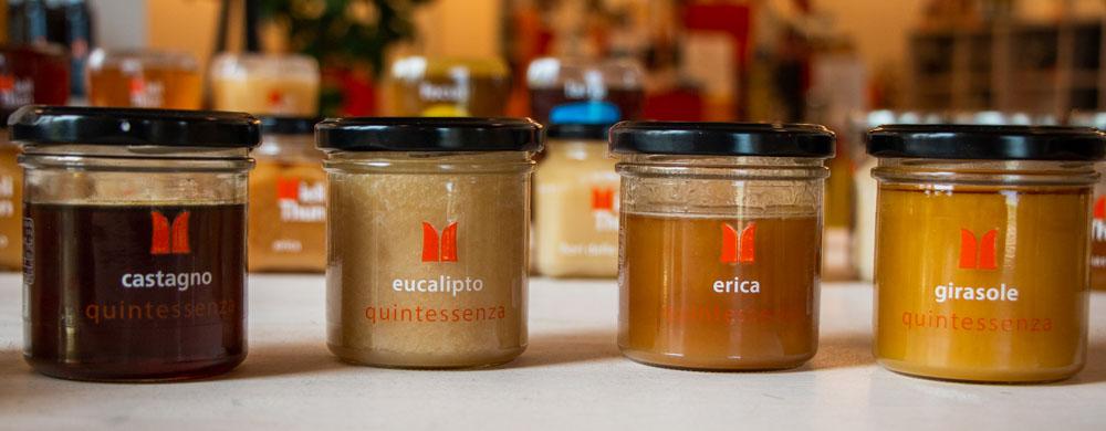 Honey at Mieli Thun in Trentino