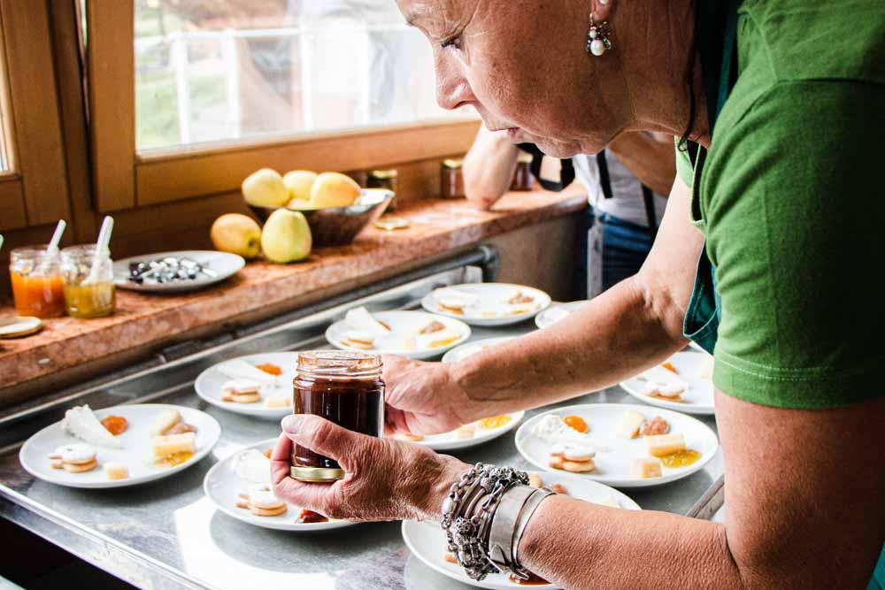 Making Jam at Azienda Agricola Calliari in Trentino