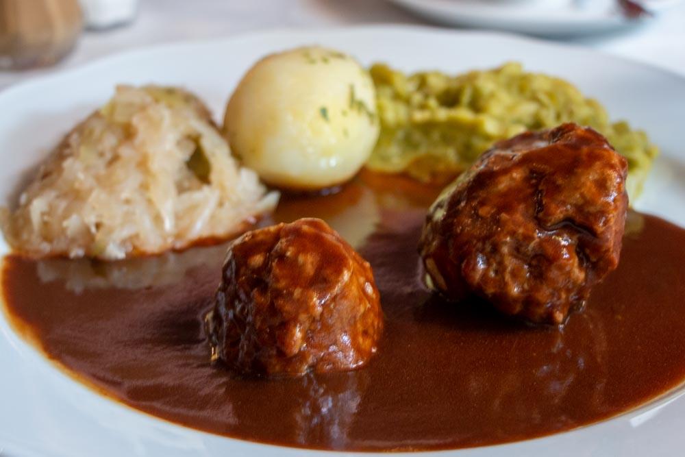 Norway Food - Kjottkaker - Meatballs