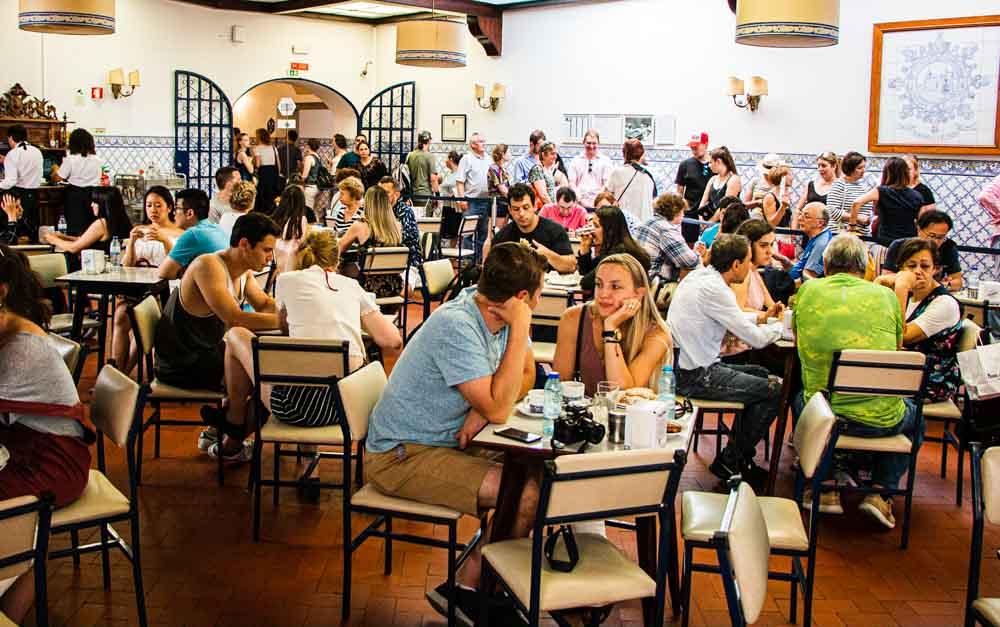 Pasteis de Belem Dining Room in Lisbon