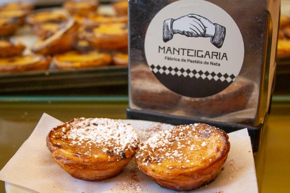Pasteis de Nata at Manteigaria in Lisbon