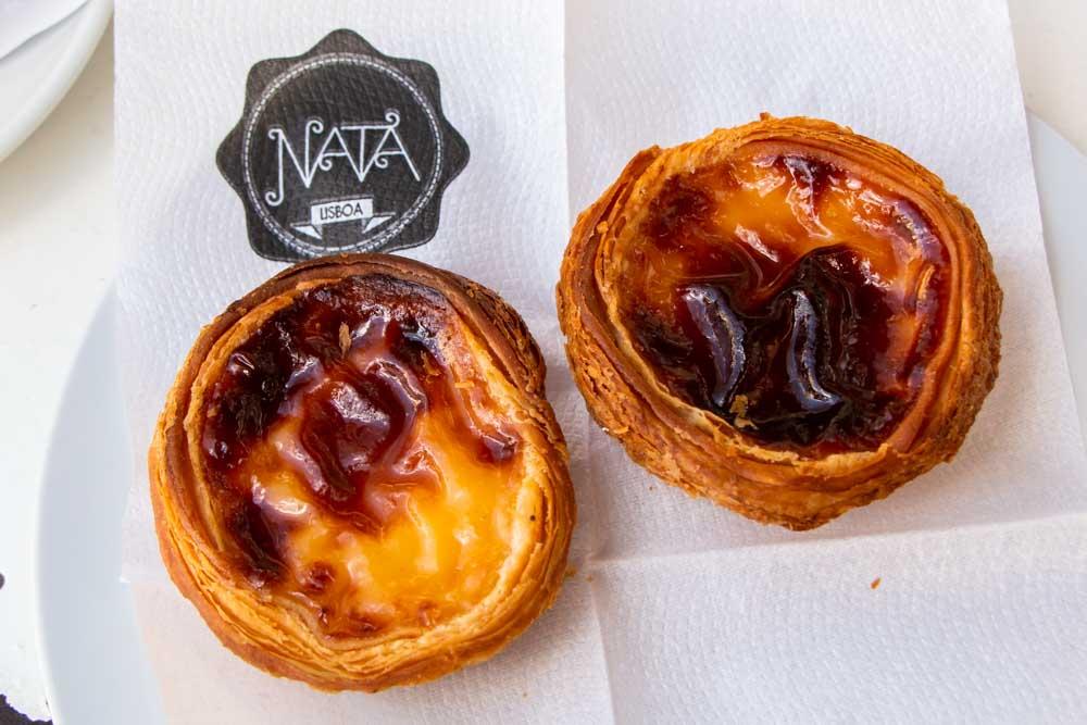 Pasteis de Nata at NATA Lisbon in Cascais