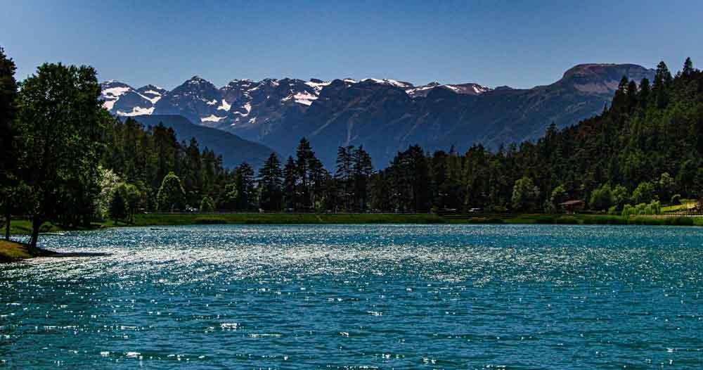 Scenic Lake in Trentino